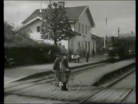 Med järnväg från Nässjö till Oskarshamn i mitten av 1940-talet