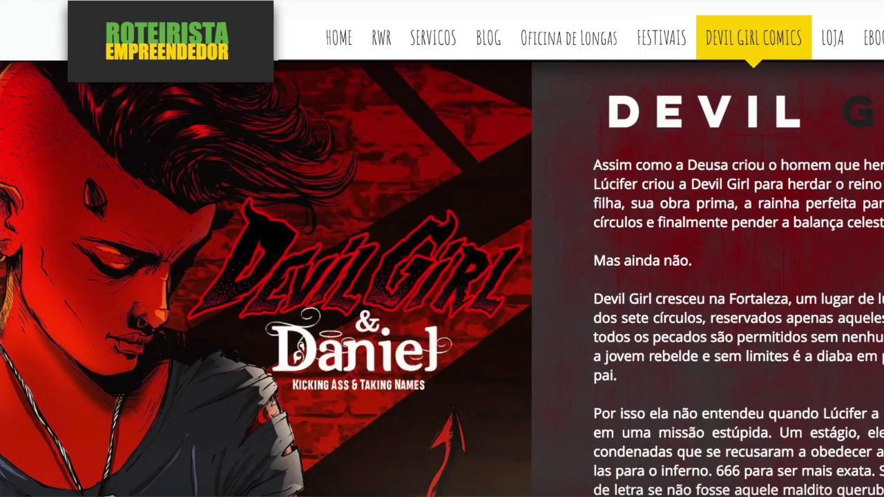 Devil Girl Video video para o catarse