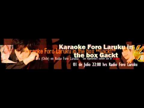 Au Revoir - Osvaldo - Karaoke Gackt Foro Laruku in the box