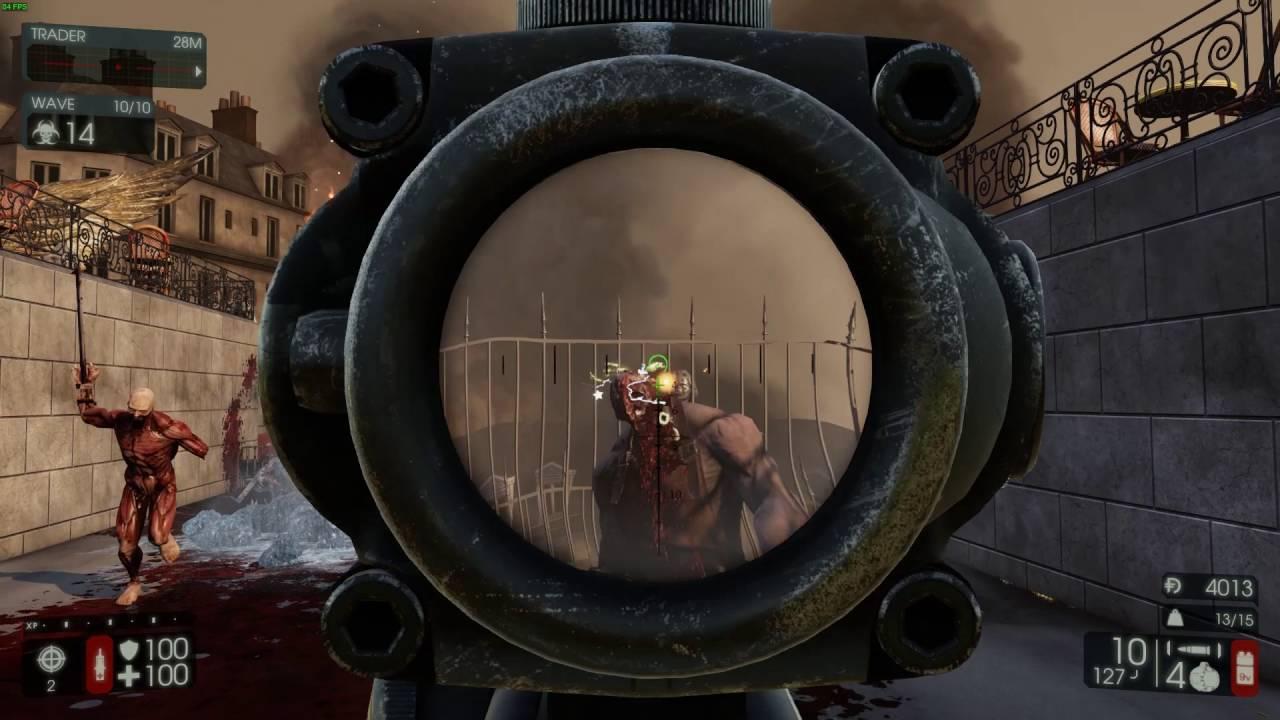 Killing Floor 2 M14 Ebr Gameplay Sharpshooter Youtube