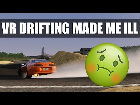 Assetto Corsa - Drifting In VR Made Me Sick