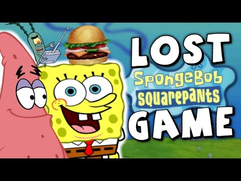 Mystery of the LOST Spongebob Game (The Burger Mess)