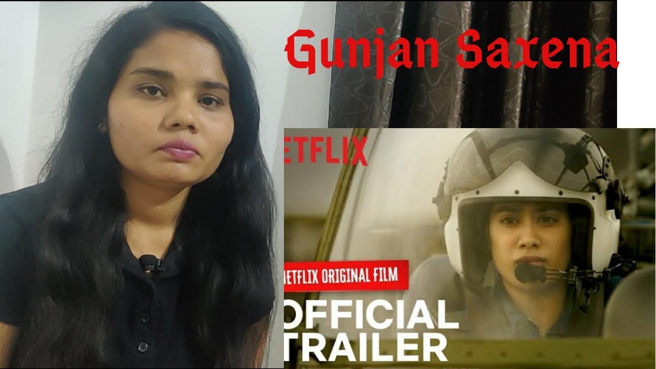 GUNJAN SAXENA: The Kargil Girl   Netflix India   Trailer Reaction    Desigirl Reacts