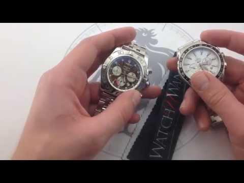 Compared: Breitling Chronomat B04 GMT vs. Omega Seamaster Aqua Terra 150M Chronograph GMT