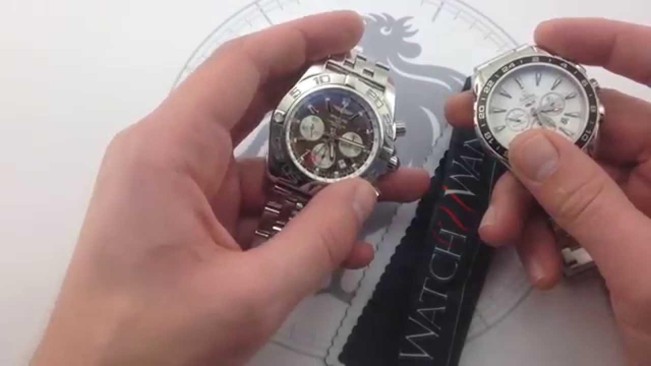 Compared: Breitling Chronomat B04 GMT vs. Omega Seamaster ...