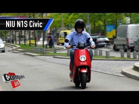 Smart und bezahlbar: eRoller NIU N1s Civic im Test