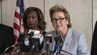 Raw video: Harris Co. DA announces charges against ex-Houston cops in botched Harding Street raid