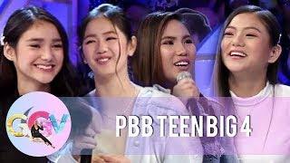 GGV: Why PBB OTSO Teen Big 4 joined Pinoy Big Brother
