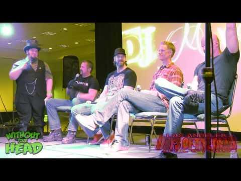 Men Behind the Mask Q&A Panel Kane Hodder, Derek Mears, Brian Steele, Tyler Mane