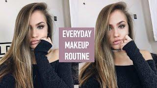 everyday makeup routine winter 2016   mel joy