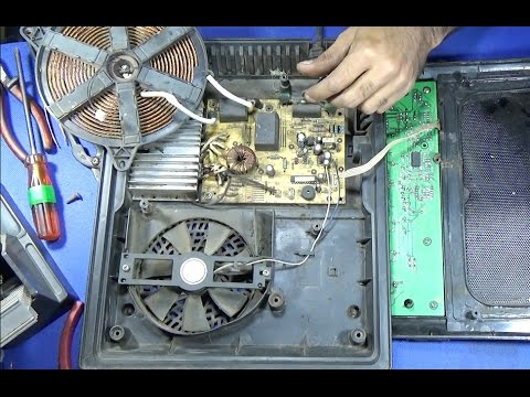 How To Repair The Power Of A Induction Cooker Youtube
