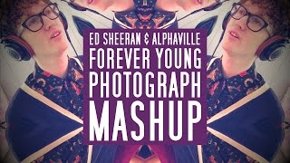 "Piano, vocal mashup of ""photograph"" by ed sheeran & ""forever young"" alphaville or my fave version youth group. i had a request to cover photograph so th..."