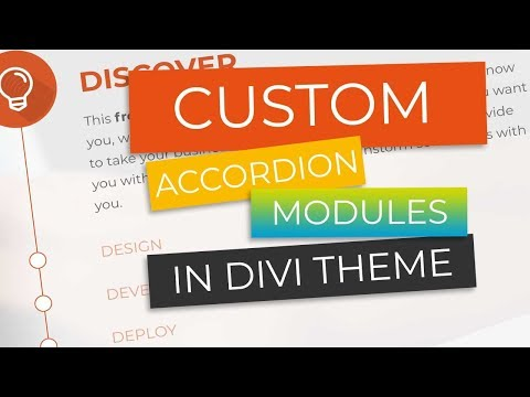 Create Awesome Custom Accordions in Divi in Under 5 Minutes