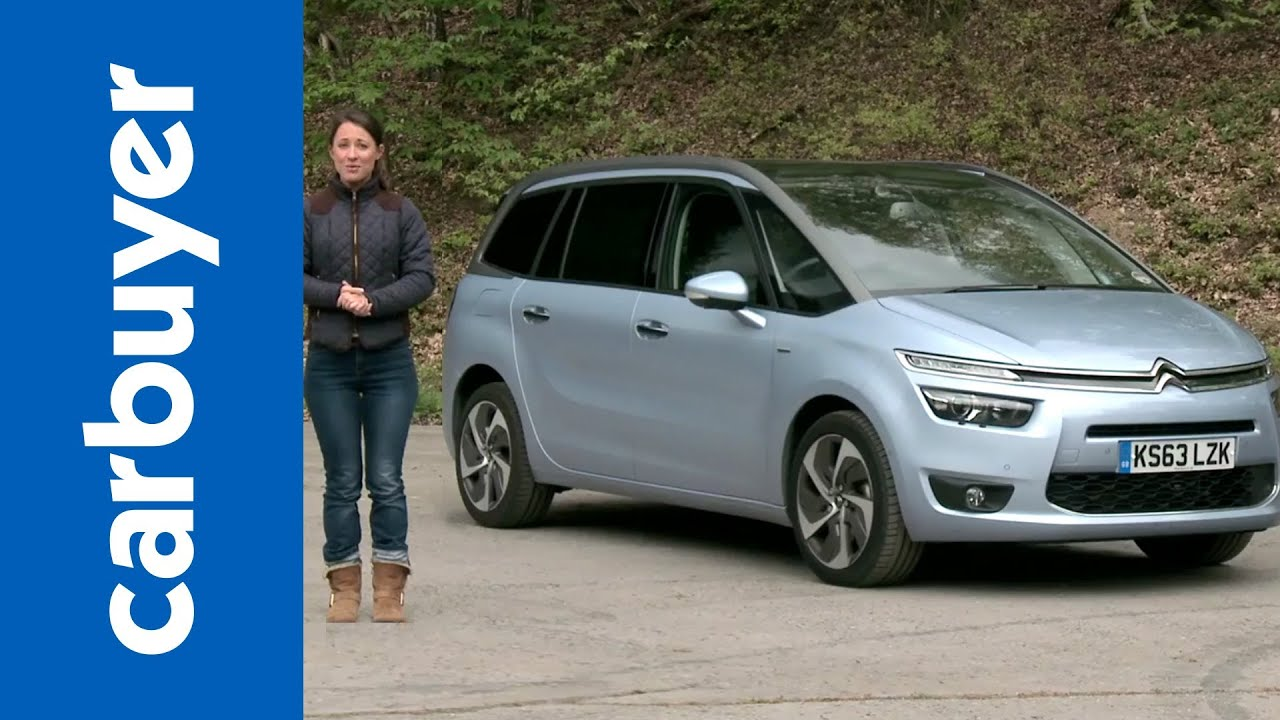citroen grand c4 picasso mpv 2014 review carbuyer youtube. Black Bedroom Furniture Sets. Home Design Ideas