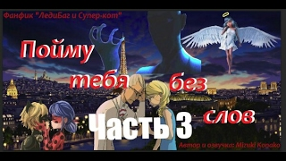 """Фанфик ЛедиБаг и Супер-кот #2 """"Пойму тебя без слов"""" (3часть)"""