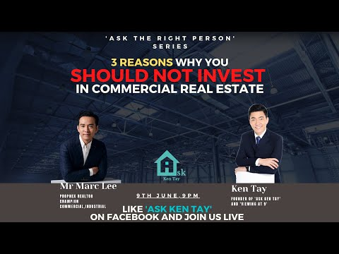 3 Reasons why you Should NOT invest in Commercial Real Estate Singapore