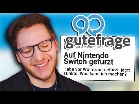 Auf Switch GEFURZT - GuteFrage punkt NICHT
