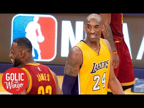 The 'brilliant wizardry' of Kobe Bryant's comments on LeBron James | Golic & Wingo | ESPN