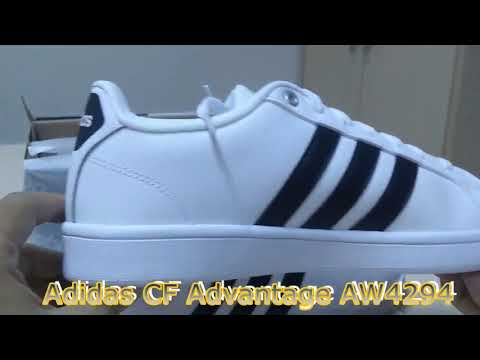 Unboxing Review sneakers Adidas CF Advantage AW4294