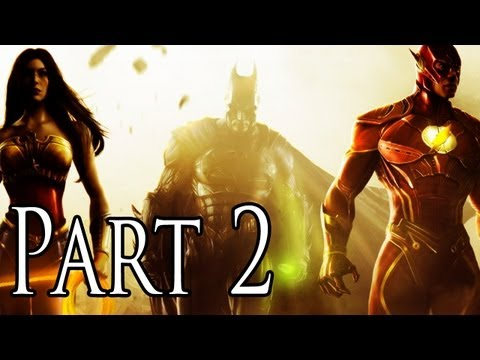 Injustice Gods Among Us Demo Walkthrough - Part 2 - Wonder Woman [XBOX 360/PS3/PC/GAMEPLAY]
