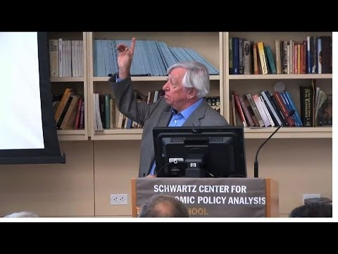 Robert Gordon in a Debate on Inequality: Stagnation vs. Redistribution