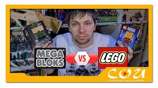 LEGO vs MEGA BLOKS / CONSTRUX | Kubros vs BrickHeadz | Iron Man vs Master Chief