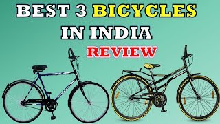 Best 3 Bicycles in India - Review with Price | Speed Cycles under 10000