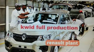 RENAULT KWID PRODUCTION IN PLANT