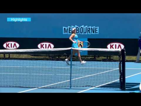 Tammi Patterson vs Olivia Rogowska: Australian Open 2013 Play-off Highlights