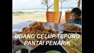 Kali ini kami cuba kedai lain pula untuk menikmati udang, sotong dan ikan celup tepung yang terkenal di Pantai Penarik, Terengganu. Nama kedai ialah Sri ...