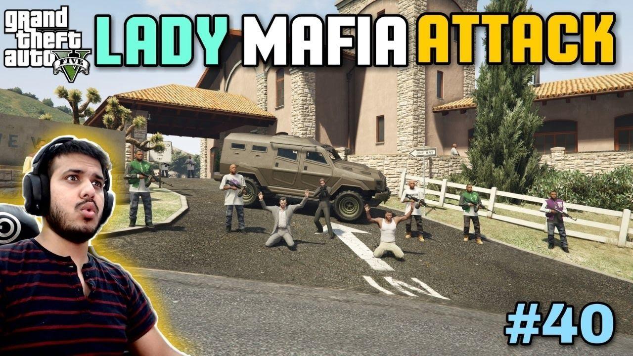 LADY MAFIA TAKING REVENGE | GTA 5 GAMEPLAY #40