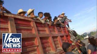 migrant caravan update