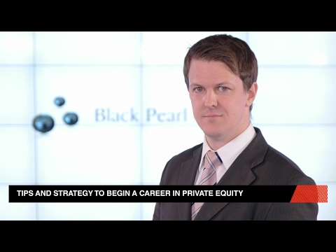A Career In Private Equity