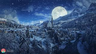 Relaxing Christmas Music Ambient, Background Christmas Music, Silent Night, Holy Night, First Noel