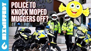 UK Police To Knock Moped Muggers Off?