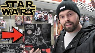 EPISODE 51 - TOY HUNTING FOR NEW STAR WARS DELUXE BLACK SERIES, MARVEL LEGENDS, NECA, FUNKO POPS!!!