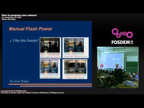 FOSDEM 2015 - Developer Room - Embedded - Hack Your Camer