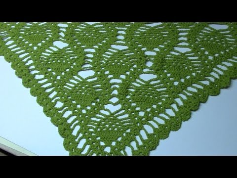 Haken Tutorial 69 Ananas Omslagdoek Youtube