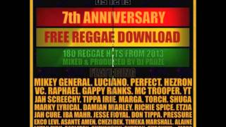 2013 FREE REGGAE DOWNLOAD (2 HOUR DJ MIX)