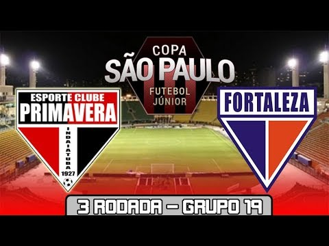Primavera 1 X 1 Fortaleza 09 01 2019 Copa Sao Paulo De Futebol Jr 2019 3 Rodada Pes 2019 Youtube