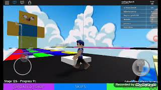 The 4 parkur pare in roblox