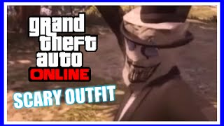 GTA 5 Online Scary Outfit - Paper Cut Jeffrey, Tutorial, 2 min Movie [PS4/XBOX ONE] [PATCHED]