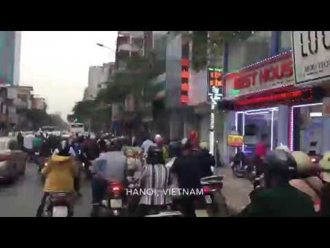 Time-lapse photography of Hanoi, Vietnam