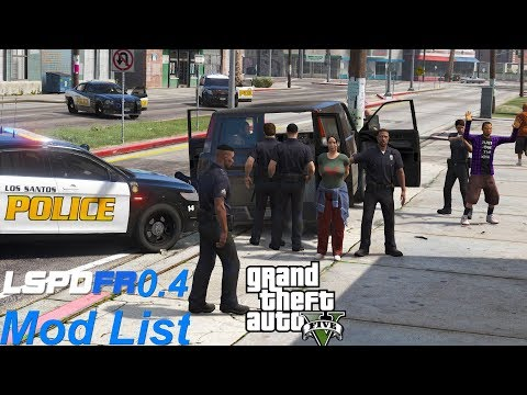 GTA 5 LSPDFR 0 4 Mod List of Updated Plugins & Callouts That