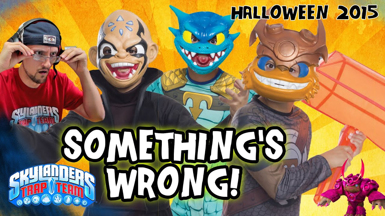 Skylanders Trap Team Halloween 2015 Costumes Something S