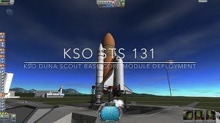 Kerbal Space Program: KSO Shuttle Missions: STS 131