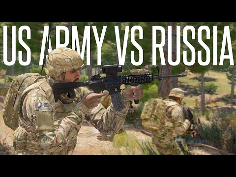 US ARMY vs RUSSIAN VDV BATTLE  ArmA 3 Realistic PVP Gameplay
