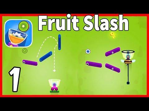 Fruit Slash Android/ ios Gameplay Part 1 Level 1-30