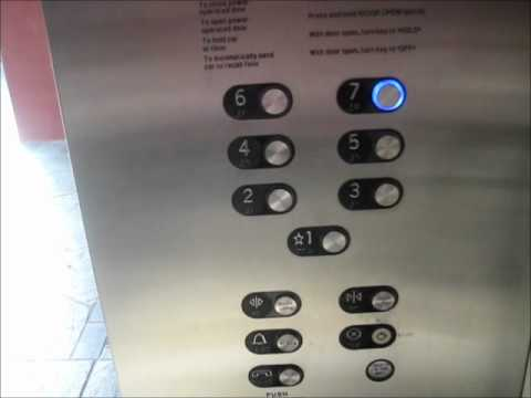 Schindler 400a Traction Elevator at Ward Center Parking Garage Honolulu