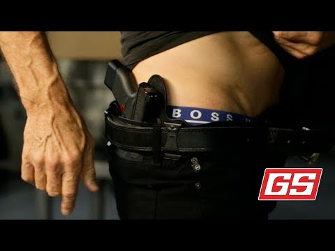 Lenny Magill demo's the MiniTuck Holster for the G42/43